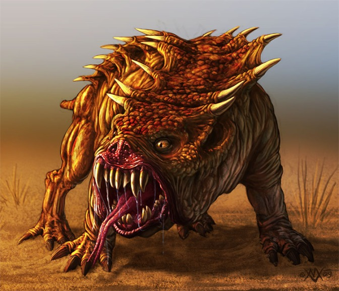 Monsters for Dark Sun Dungeon World