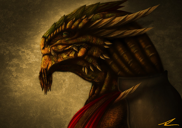 "William Samir Muniz's ""Rimas the Dragonborn"""